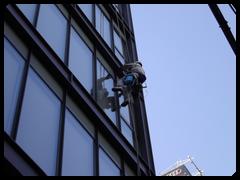 高所窓拭き