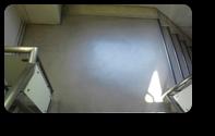 階段洗浄前