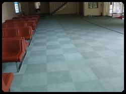 タイルカーペット清掃